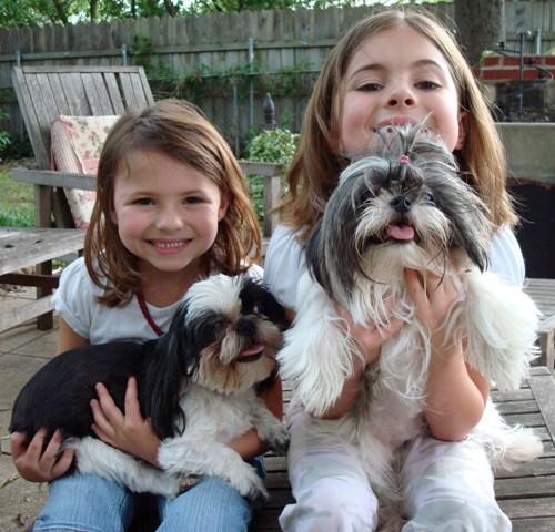Armani & Natasha with girls